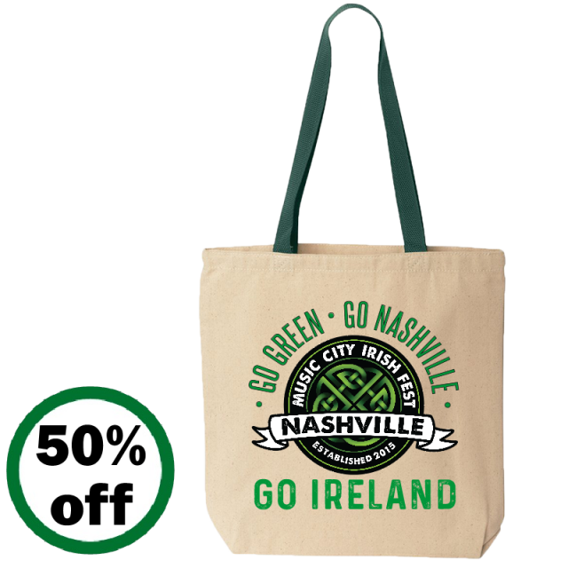 Music City Irish Festival Tote Bag