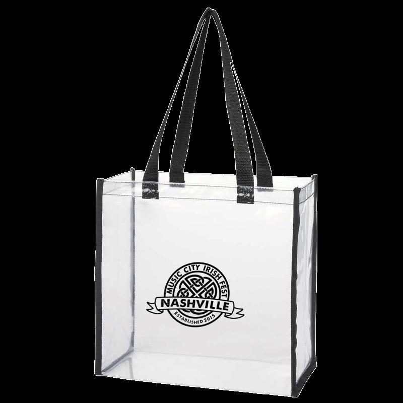 Music City Irish Festival Clear Tote Bag