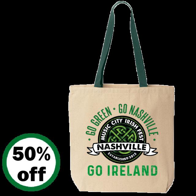 Music City Irish Festival Tote Bag